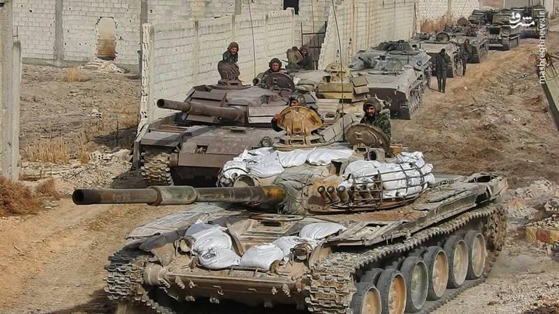 آخرین تحولات میدانی غوطه شرقی دمشق