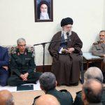 دیدار فرماندهان نیروهای مسلح با رهبر انقلاب