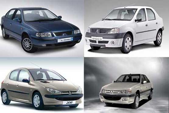 آخرین قیمت انواع محصولات ایران خودرو