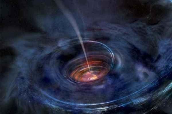 تایید دوباره نظریه نسبیت اینشتین با مطالعه یک ابرسیاهچاله