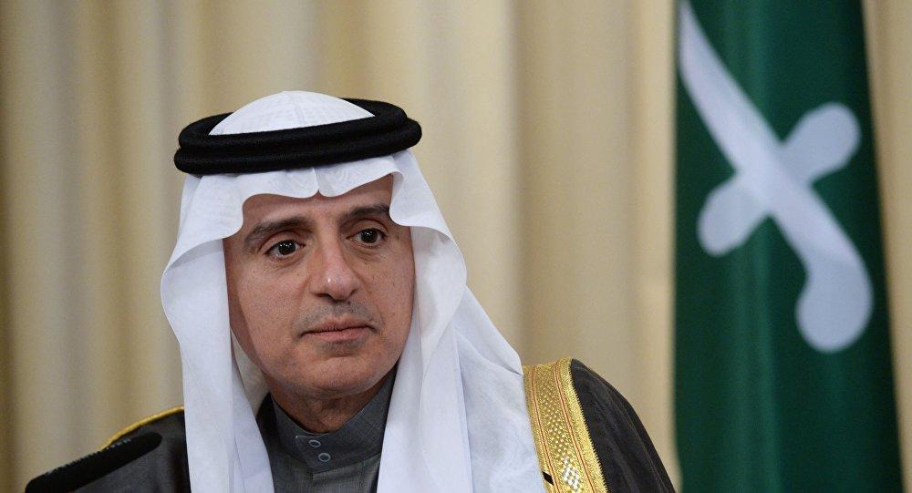 صدای لرزان عادل الجبیر در نشست خبری پس از قطع روابط عربستان با کانادا