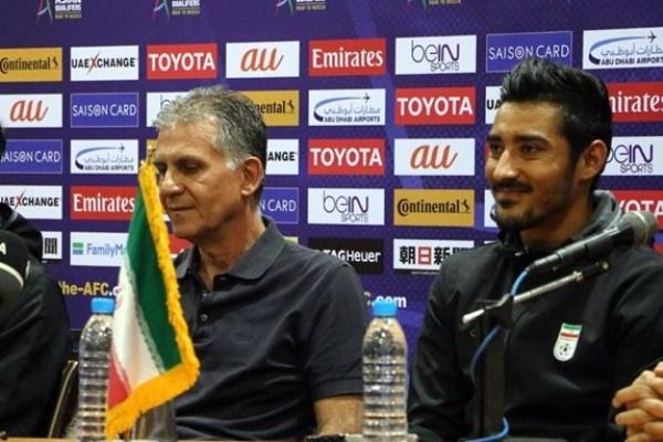 موافقت کیروش با خداحافظی مهاجم تیم ملی