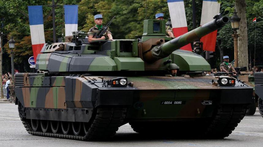 لکلر تانک اصلی میدان نبرد