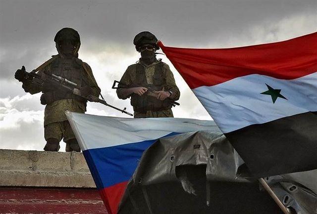 حمله جنگنده های روسیه به عوامل حمله شیمیایی