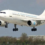 هواپیما به تبریز رفت