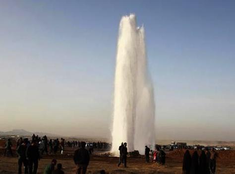 خط لوله ترکید و یزد آب ندارد