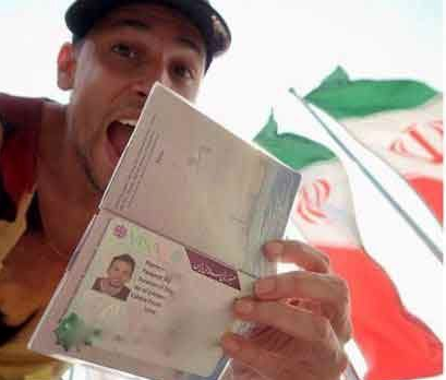 این مرد آمریکایی عشق به ایران را فریاد زد