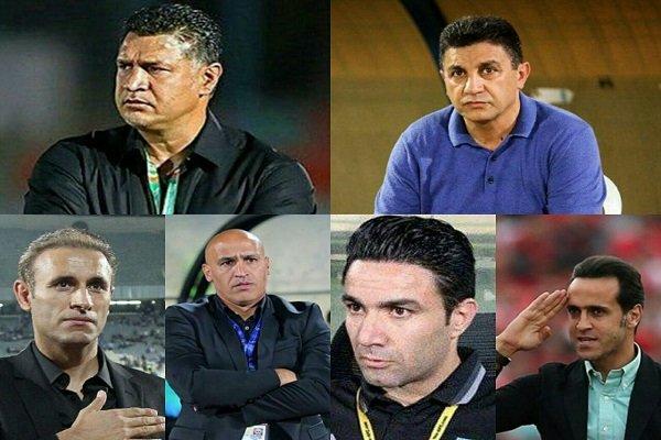 ۹ مربی لیگ برتری یا استقلالی هستند یا پرسپولیس