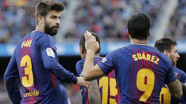 وقتی بازیکنان بارسلونا به جان یکدیگر میافتند!