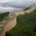 دیدار آیت الله خامنه ای از دیوار چین +عکس دیدار آیت الله خامنه ای از دیوار چین