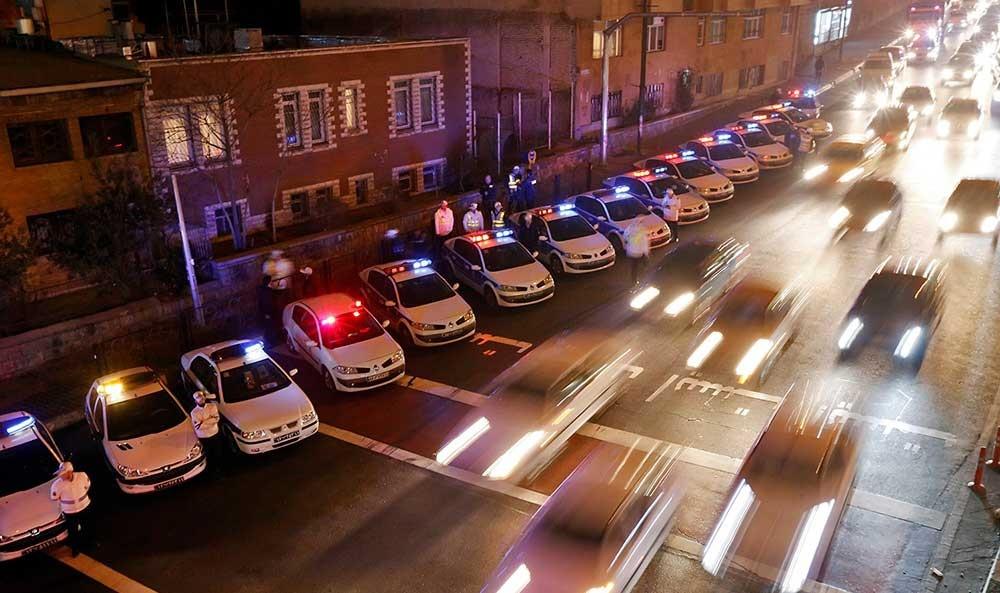 پلیس به دوردور ۴۵۰ خودرو پایان داد