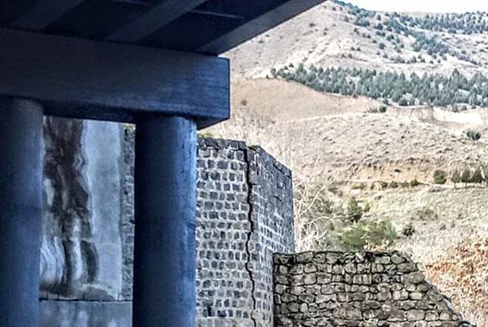 پایه پل تاریخی جاجرود به سرقت رفت