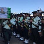 پیکر شهدای حادثه تروریستی در چابهار تشییع شد