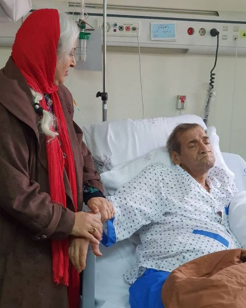 مراقبت فرحناز منافی از محب اهری پس طلاق