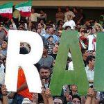 ایرانیها سکوهای ورزشگاه آل مکتوم را تسخیر کردند!