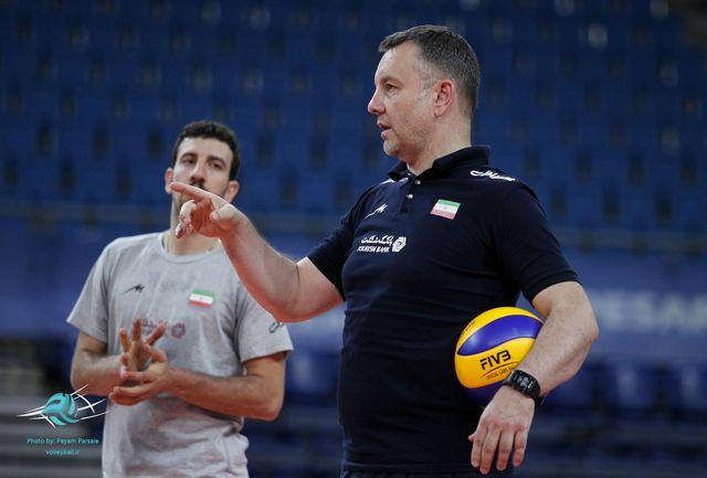 خوشحالم که بار دیگر در ایران و در این سرزمین والیبال هستم