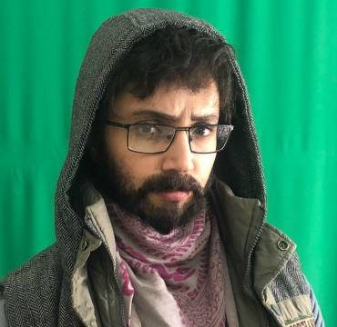 شبنم قلیخانی با ریش و سبیل مردانه!