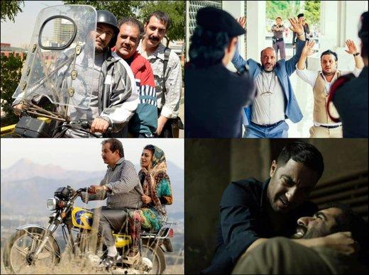 فراز و فرودهای مهران مدیری و محمدرضا گلزار در تعطیلات نوروزی