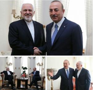 وزرای خارجه ایران و ترکیه با یکدیگر دیدار و گفتوگو کردند