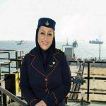 اولین دختر دریانورد ایران و خاورمیانه