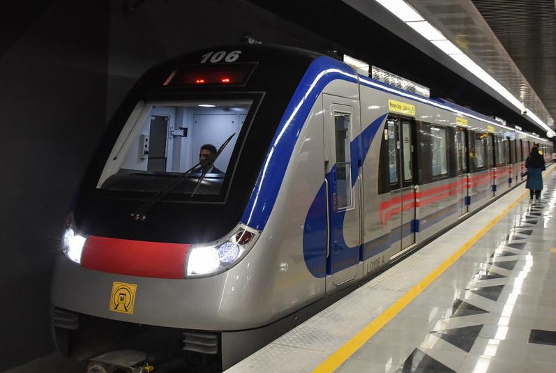 افتتاح خط ۶ مترو تهران با حضور رییس جمهور