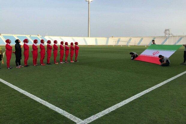 تیم ملی فوتبال بانوان برای صعود با چین تایپه خواهد جنگید