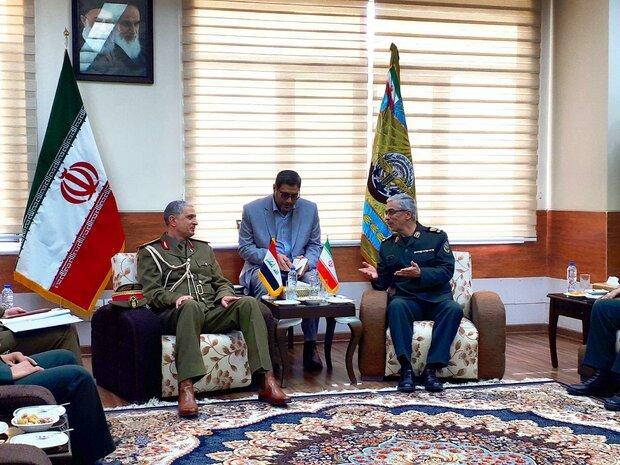 رئیس ستاد کل نیروهای مسلح صبح امروز با رئیس ستاد ارتش عراق دیدار و گفتگو کرد.