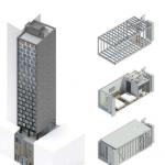 بلندترین هتل ماژولار جهان در منهتن