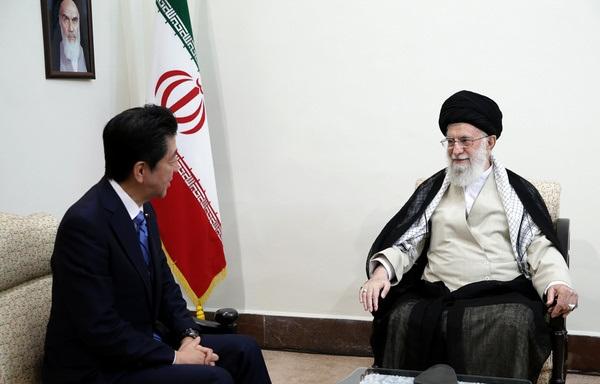 بازتاب دیدار نخستوزیر ژاپن با رهبر معظم انقلاب