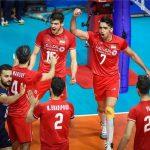 حریفان ایران در نیمهنهایی لیگ ملتهای والیبال مشخص شدند