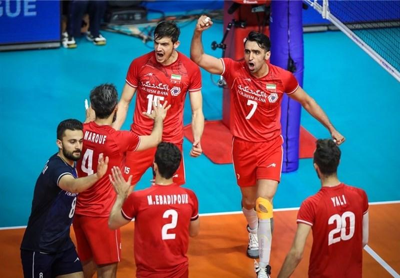 لیگ ملتهای والیبال ایران بالاتر از ابرقدرتهای سنتی