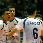 برتری نوجوانان والیبال ایران برابر برزیل