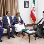 پیامهای دیدار هیات یمنی با رهبر انقلاب