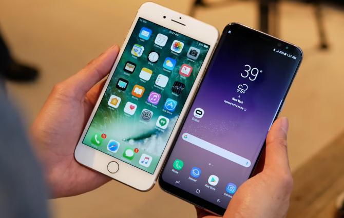 تشعشعات خطرناک برای بدن در ۲ مدل گوشی اپل و سامسونگ