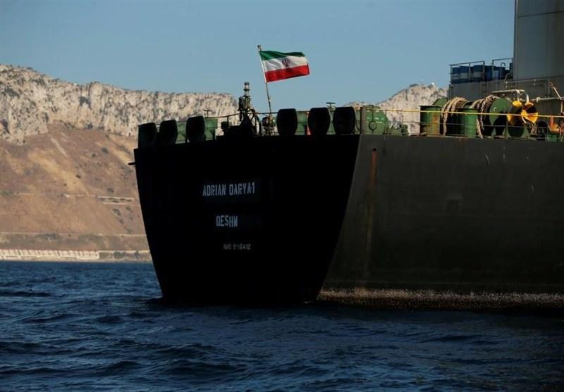 نفتکش آدریان دریا در نزدیکی سوریه سرعت خود را کاهش داد