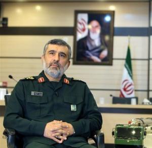 سردار حاجیزاده: پهپاد آمریکایی را یک نیروی آتشبهاختیار ساقط کرد