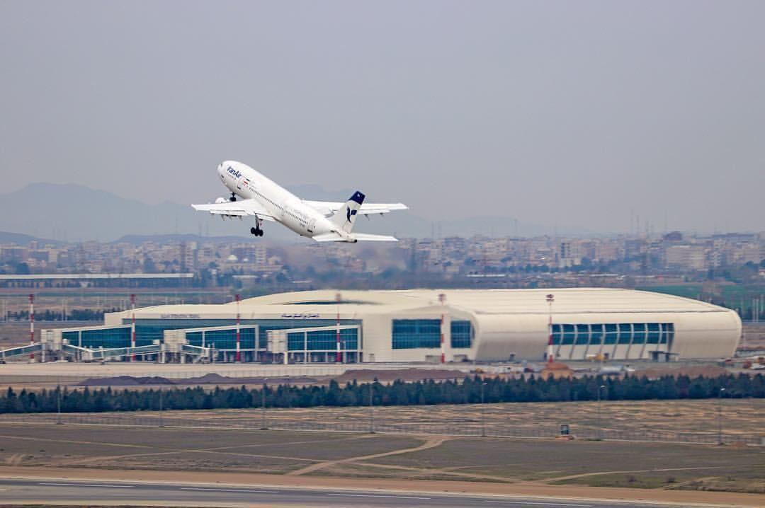 تداوم پروازها از چین به ایران