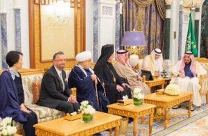 ذوق زدگی اسرائیل از دیدار ملک سلمان با خاخام یهودی در کاخش برای اولین بار