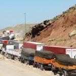 آخرین وضعیت مرزها؛ قرنطینه رانندگان ایرانی در ترکیه و توقف ۱۵۰۰ کامیون در سومار