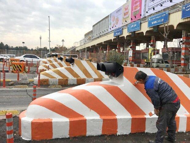 تحولی نو در شهر تهران با بهره برداری از اولین رنگ های بازیافتی