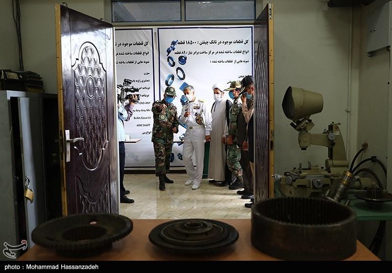 بازدید امیر سیاری معاون هماهنگکننده ارتش از مرکز زرهی شهید زرهرن نزاجا