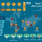 آخرین آمار کرونا در ایران؛ تعداد مبتلایان به ۴۲۵ هزار و ۴۸۱ نفر رسید