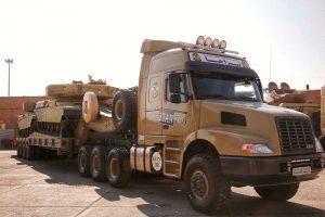 الحاق بیش از ۵۰۰ خودروی فوق سنگین تانک بر تاکتیکی به ناوگان تحرک نیروی زمینی ارتش