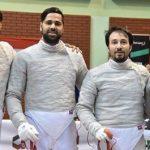 سه برد شیرین شمشیر بازان ایرانی در المپیک توکیو