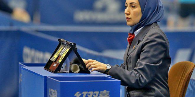 قضاوت داور المپیکی ایران در مرحله یک چهارم پایانی