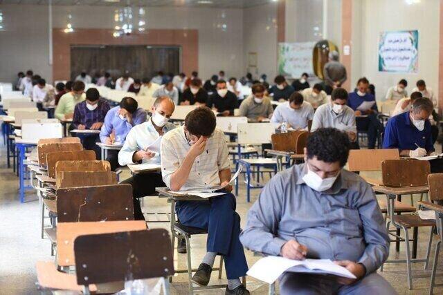 ۳۶۴ داوطلب کنکور کارشناسی ارشد مبتلا به کرونا هستند