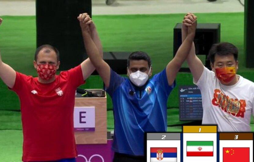 تمجید صفحه رسمی المپیک از رکوردشکنی ملیپوش تپانچه ایران