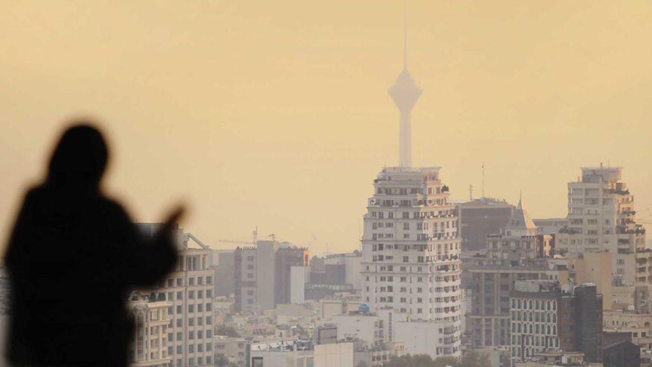 کیفیت هوای تهران در شرایط نامطلوب قرار دارد