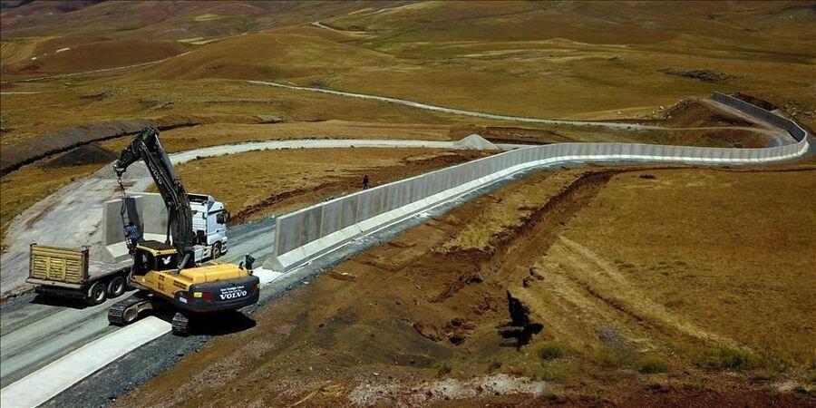 تشدید تدابیر امنیتی ترکیه در مرز با ایران، دیوارکشی ترکیه در مرز با ایران؛ هدف چیست؟