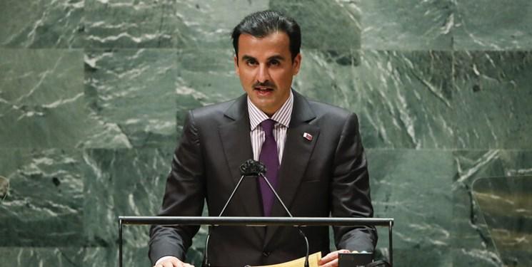 اظهارات امیر قطر درباره ایران در سازمان ملل